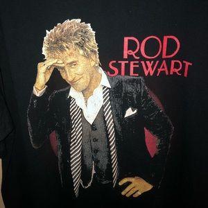 Old vtg Rod Stewart 2003 tour band shirt sz XL